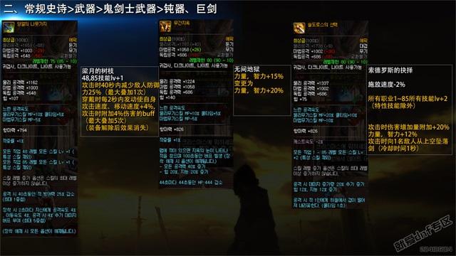 就爱dnf专区:韩国正式服,12月21日史诗改版介绍合集第14张-地下城与勇士_就爱dnf专区