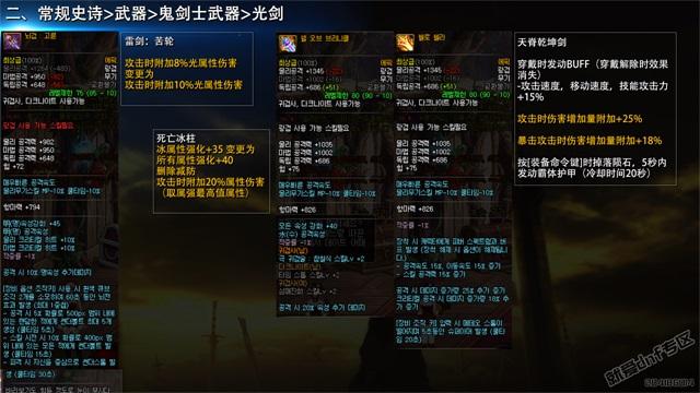就爱dnf专区:韩国正式服,12月21日史诗改版介绍合集第16张-地下城与勇士_就爱dnf专区