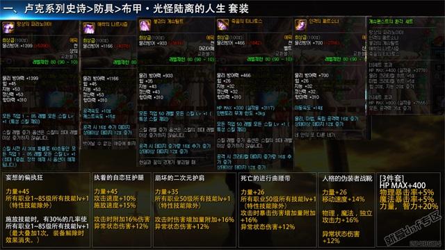 就爱dnf专区:韩国正式服,12月21日史诗改版介绍合集第6张-地下城与勇士_就爱dnf专区
